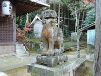 御机神社 狛犬