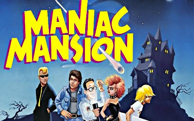 Maniac Mansion Deluxe - Jeu Point 'n' Click sur PC