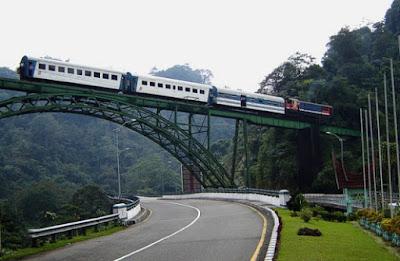 Kereta Api Batusangkar-Padang Panjang