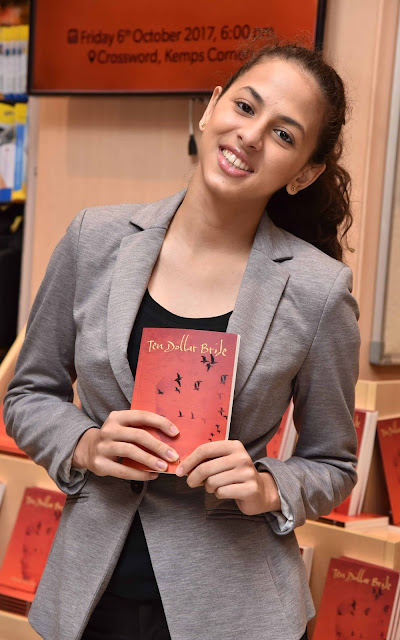 Author Sanya Runwal at Crossword Bookstores for her debut launch- Ten Dollar Bride
