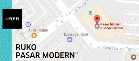 Lokasi Alamat Kantor Uber Surabaya (Motor dan Mobil)