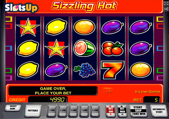 Slot game is one of the non-linear machines