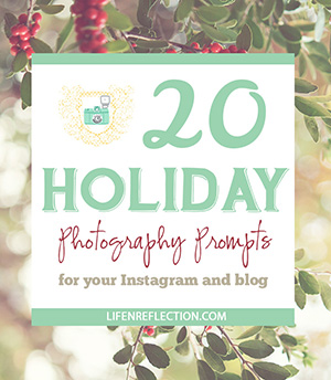 http://life-n-reflection.blogspot.com/p/holiday-photography-checklist.html