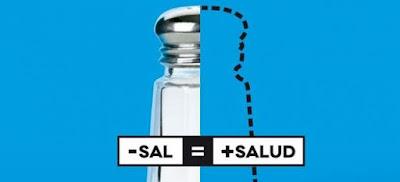 Disminución del consumo de sal