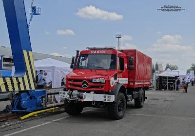 Mercedes-Benz Unimog U4023, HZS SŽDC JPO Ostrava