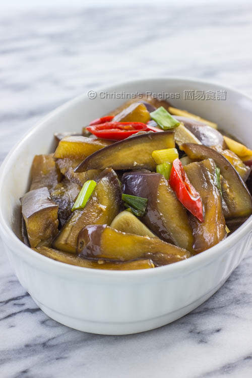 糖醋茄子 Sweet & Sour Eggplants01