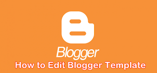edit blogger template