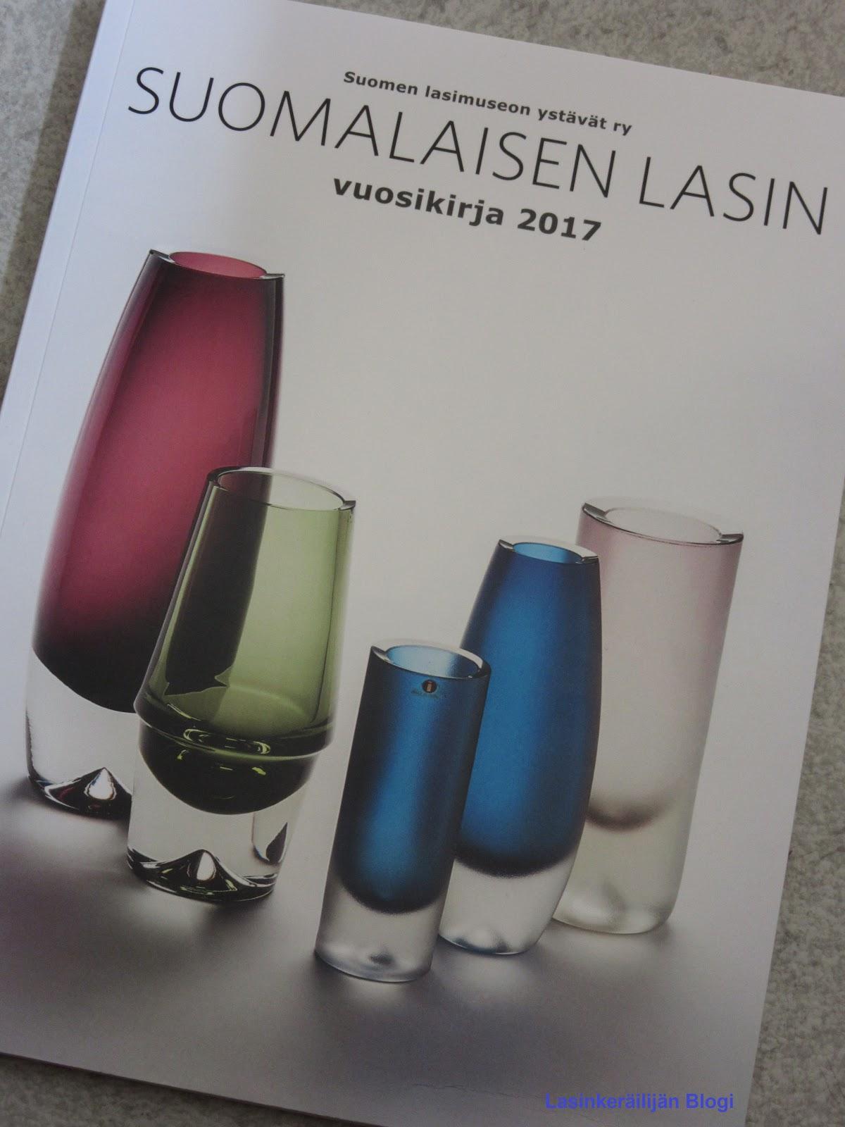 Lasinkeräilijän Blogi Suomalaisen lasin vuosikirja 2017