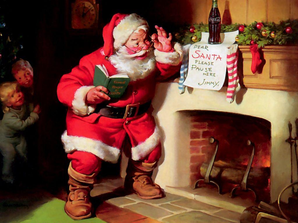 Norman Rockwell Christmas Screensaver