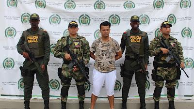 Capturan al segundo cabecilla urbano del clan del golfo en Quibdó
