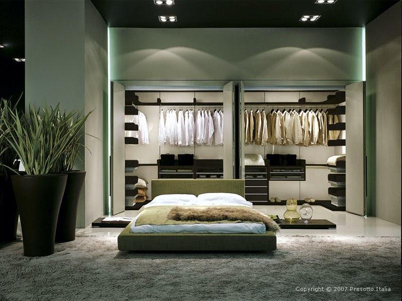 Master Bedroom Walk In Closet Designs - The Interior Designs