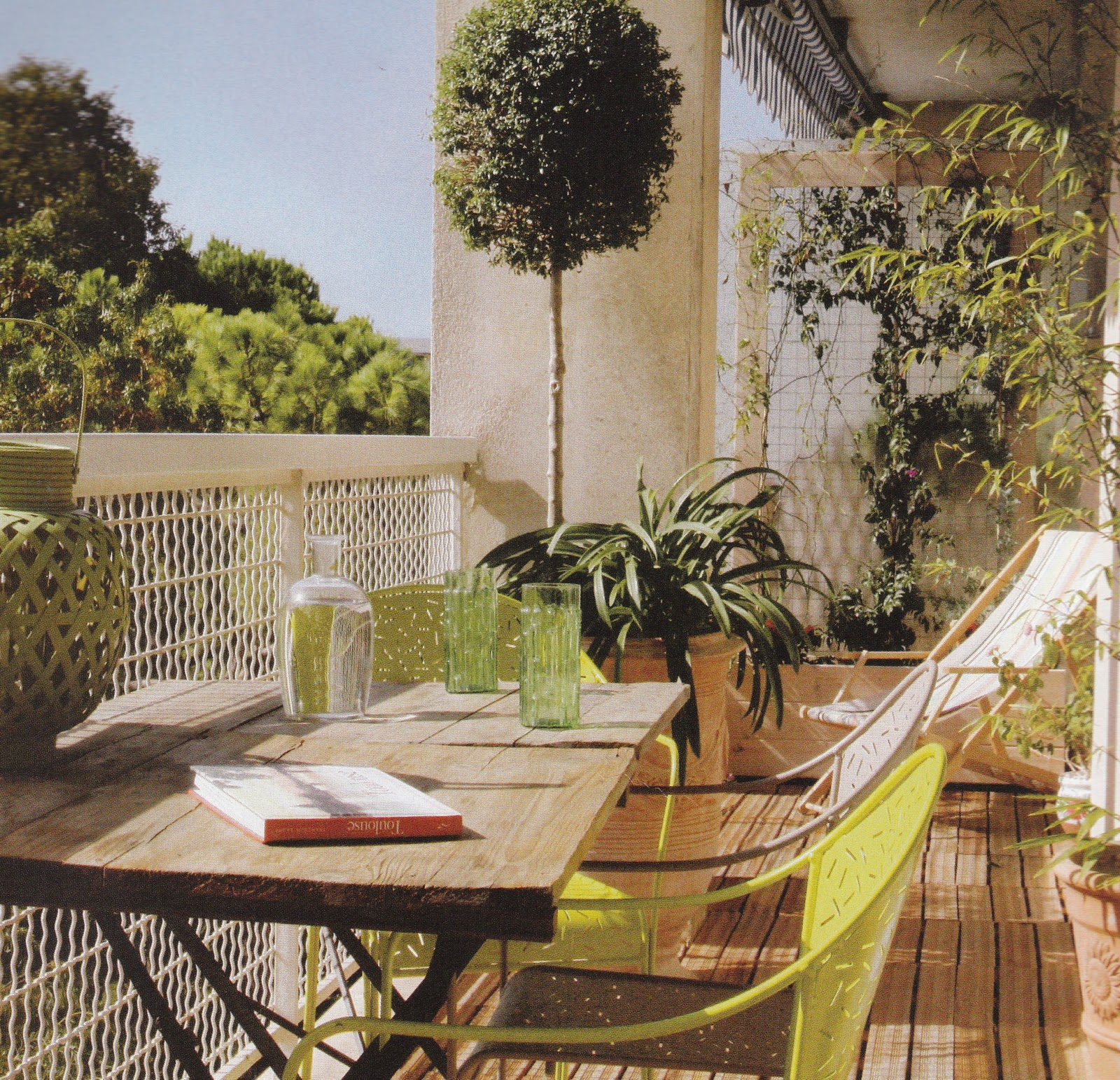 Isabelle H Decoration Et Home Staging Terrasse Inspiration