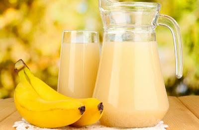 عصير الموز وفوائده