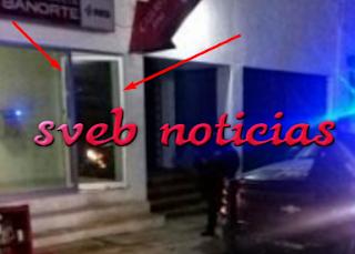 Ladrones se llevan cajero automatico en Acayucan Veracruz