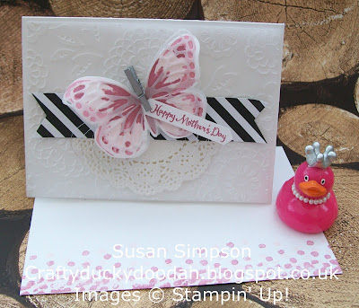Stampin' Up! Susan Simpson UK Independent Stampin' Up! Demonstrator, Craftyduckydoodah!, Watercolour Wings, Dragonfly Dreams, Lovely Lace, Supplies available 24/7 from my online store,
