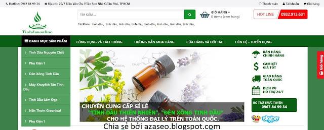 Template blogspot bán hàng (MIỄN PHÍ) đẹp, chuyên nghiệp, chuẩn seo