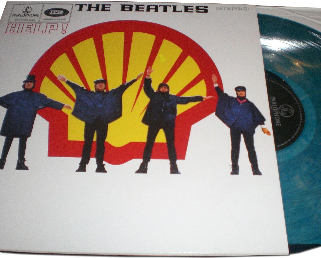 The Daily Beatle: The Beatles Shell Help! LP