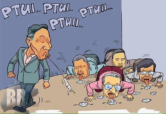 Ludah Anwar Kini Dijilat² Bekas Pemimpin UMNO Puii