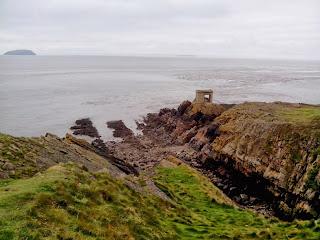 Isla de Steep Holm desde Breandown