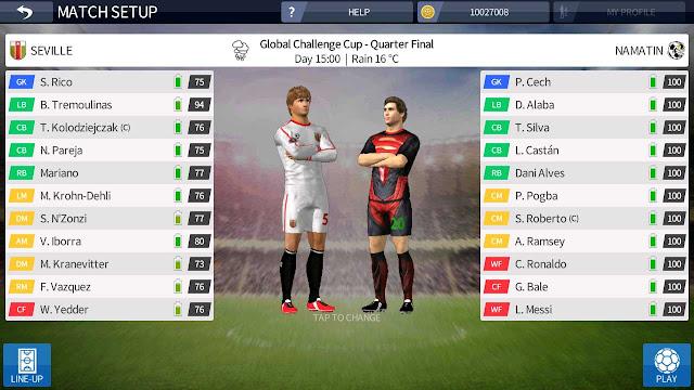 semua pemain 100 dream league soccer