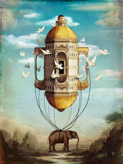 20-Imaginary-Traveller-Christian-Schloevery-Surreal-Paintings-Balance-of-Mind-and-Heart-www-designstack-co