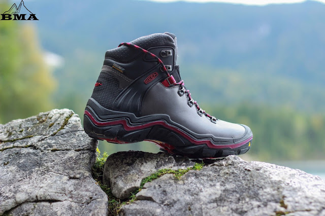 Wanderstiefel Damen KEEN Liberty Ridge Wanderschuhe wandern Eibsee Bayern Garmisch Deutschland