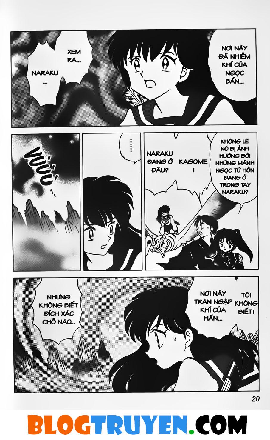 Inuyasha vol 33.1 trang 18