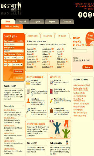 free job sites to search cv in uk