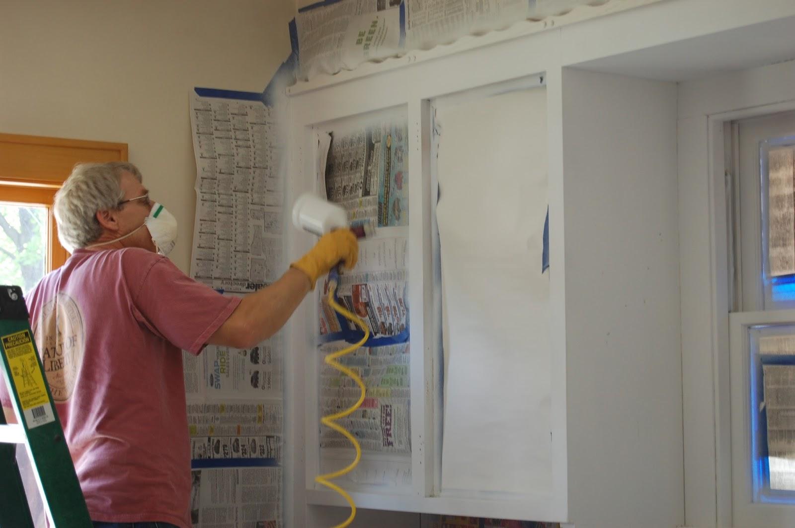 diy painting kitchen cabinets repaint kitchen cabinets DIY Painting Kitchen Cabinets