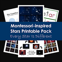 Montessori-inspired Star Printable Pack