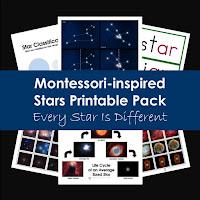 Montessori-inspired Star Printable Pack
