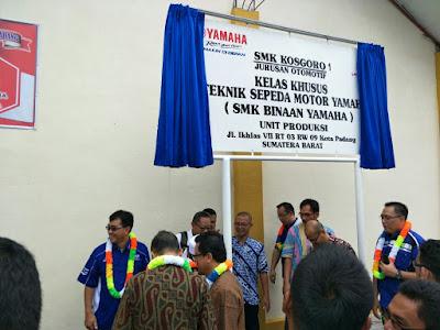 SMK Kosgoro Padang, salah satu SMK Binaan Yamaha