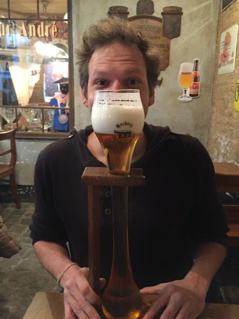 Kwak beer in Dulle Griet Gent, Belgium