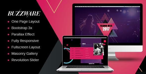 Fashion & Beauty Website Templates