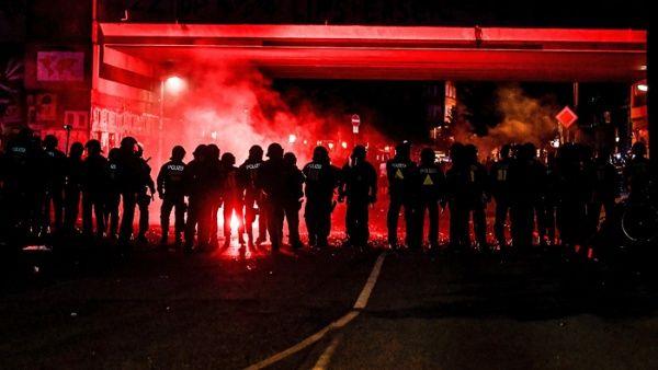 Continúan protestas contra el G20 en Hamburgo, Alemania