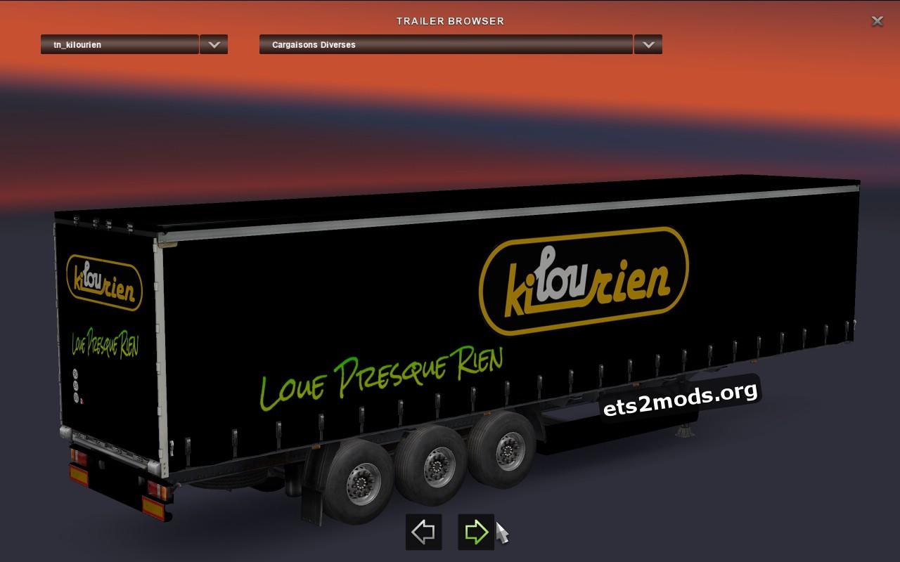 Kilourien Pack Trailers
