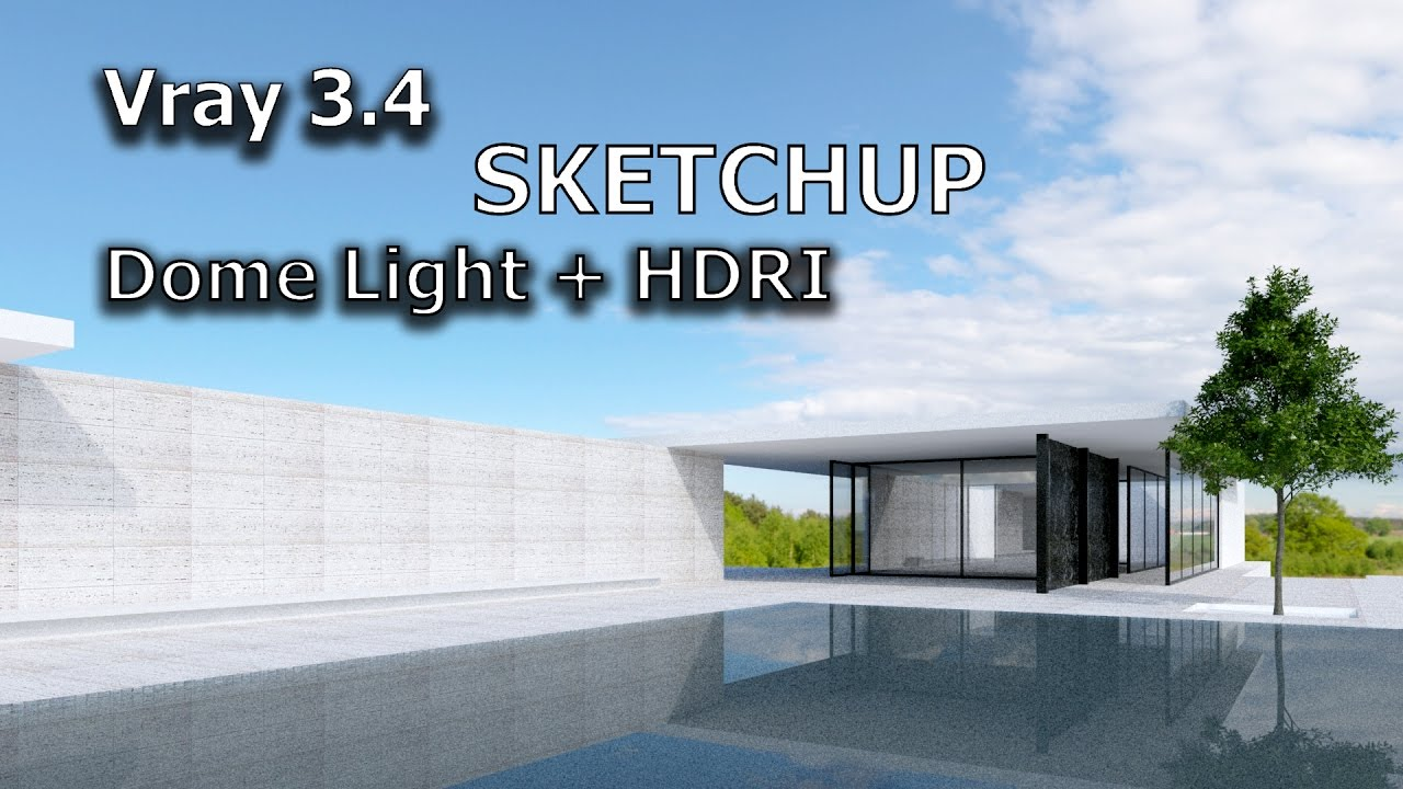 how to set camera in sketchup vray