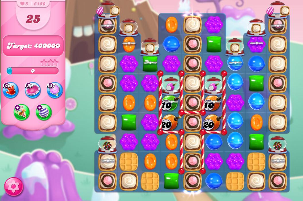 Candy Crush Saga level 6150