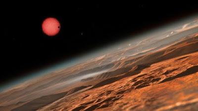 Astrônomos descobrem planetas potencialmente habitáveis  em órbita fria estrela anã