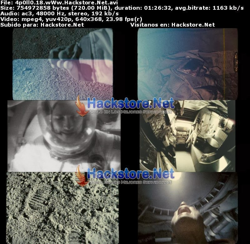 Captura Apollo 18 (2011) DVDRip Latino