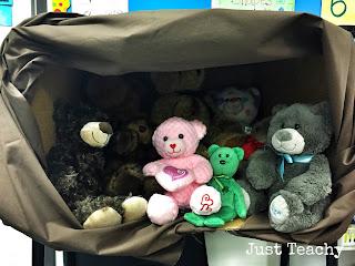 Hibernating Teddy Bears, www.justteachy.blogspot.com