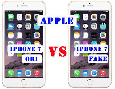 Cara Membedakan IPhone 7 Asli dan Palsu