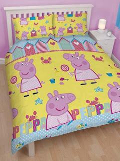 habitación temática Peppa pig