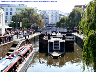 Esclusa de Camden Lock en el Canal de Regent's