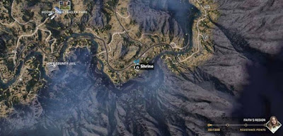 Far Cry 5, Shrines Locations, Faith's Region, McCallough's Garage