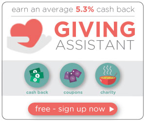 Cash Back + Donate