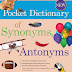 Synonyms And Antonyms Competitive Exam PDF Book