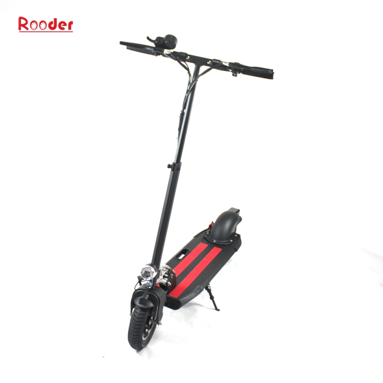 Rooder electric scooter folding electric scooter r803t for Electric scooter brushless motor