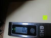 Display: GHB 50kg Digitale Gepäckwaage LCD Anzeige tragbare Handwaage Kofferwaage für Reise und Haushalt Silber