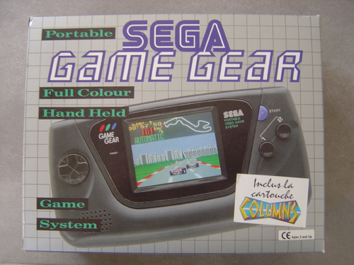 Game Gear + colums